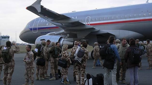 Návrat českých vojáků z Kábulu