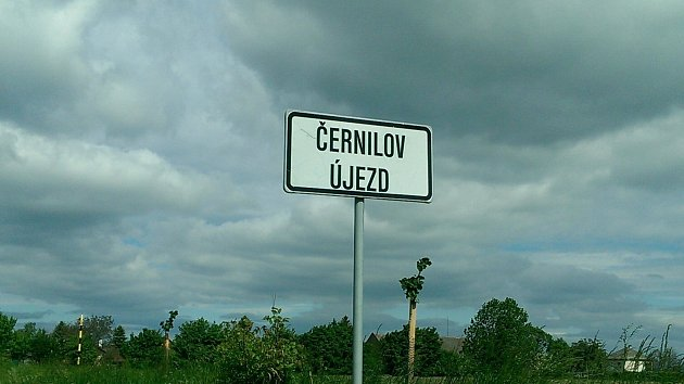 Černilov, místní část Újezd.