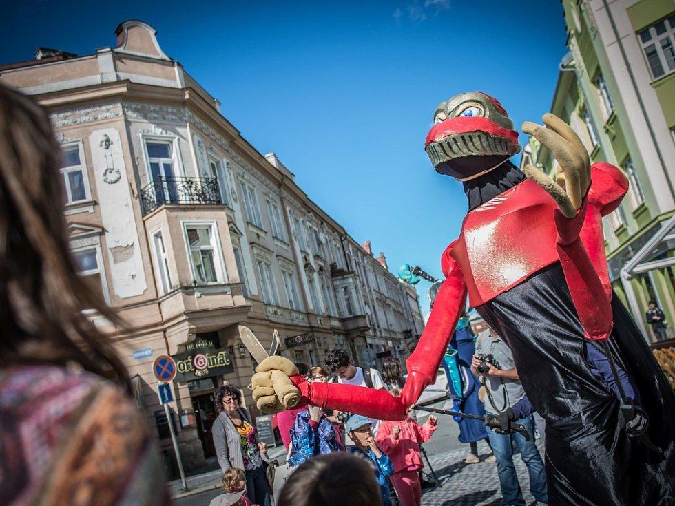 Zahájení 22. ročníku festivalu Divadlo evropských regionů v Hradci Králové.