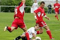 Fotbalová divize C: FC Hradec B - Dvůr Králové.