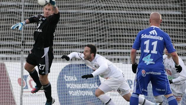 Fotbalová I. Gambrinus liga: FC Hradec Králové - SK Sigma Olomouc.