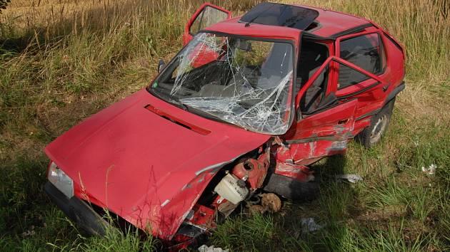 Klenice: Nehoda šesti vozidel