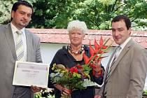 Ženou regionu se stala Štěpánka Raiterová, krejčová z Hradce Králové.