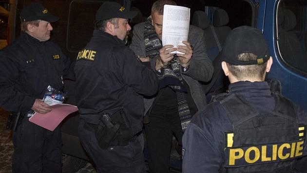 Okresní soud v Pardubicích projednával 22. ledna uvalení vazby na advokáta Iva Halu a podnikatele Petra Sisáka (na snímku). V případu kolem společnosti Via Chem Group je obviněno 14 lidí kvůli údajnému manipulování insolvencí, ve vazbě zatím skončili čtyř