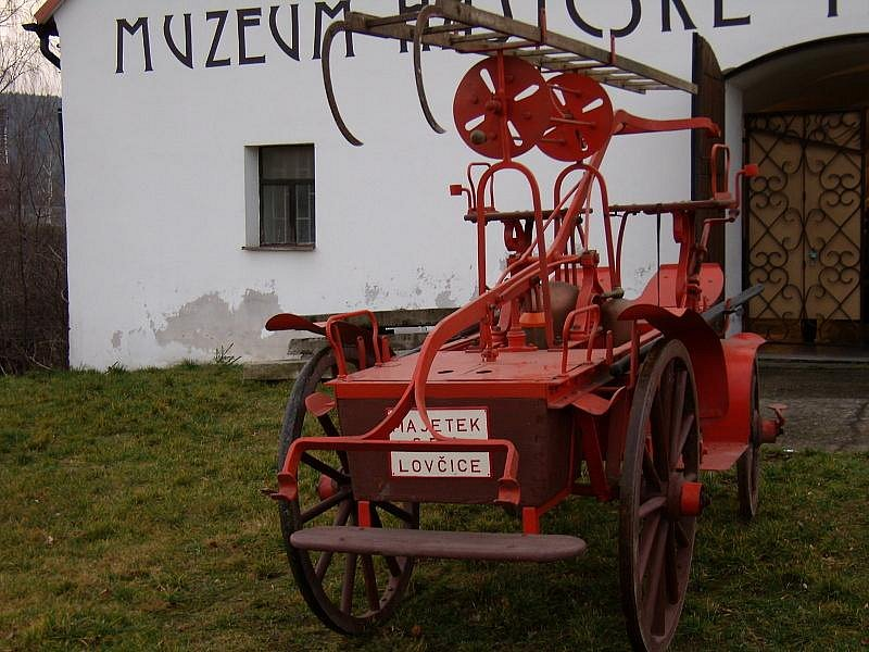 Lidé svatého Floriana: SDH Lovčice.