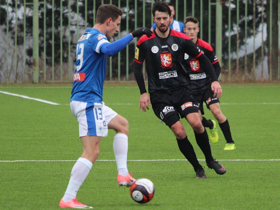 Zimní fotbalová Tipsport liga: FC Slovan Liberec - FC Hradec Králové.