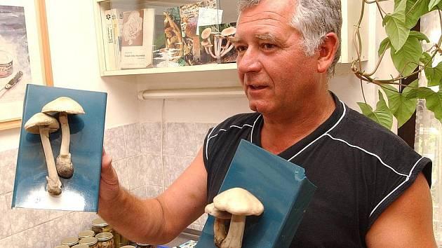 Mykolog Václav Paráček.