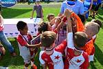 Ondrášovka Cup - finálový turnaj katerogie U9 v Hradci Králové: vítězní fotbalisté SK Slavia Praha.