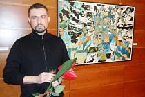 V Hradci vystavuji potřetí, říká umělec, který vyrůstal v USA