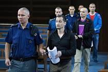 """Skupina polských zlodějů """"navrtávačů"""" u Krajského soudu v Hradci Králové."""