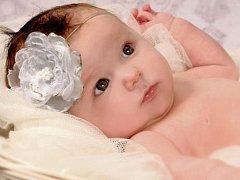 TEREZA POLÁKOVÁ se narodila 18. října 2013. Její maminka Kateřina poslala fotku se zpožděním. Celé rodině přejeme hlavně hodně zdraví.