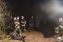 Muže našli až hasiči