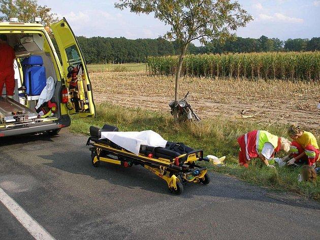 Nehoda u Nového Bydžova 15. září.