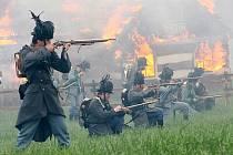 Inscenace bitvy na Chlumu 1866