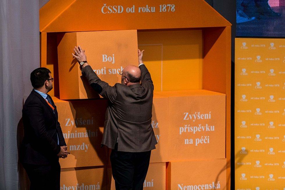 Sjezd ČSSD v Hradci Králové.