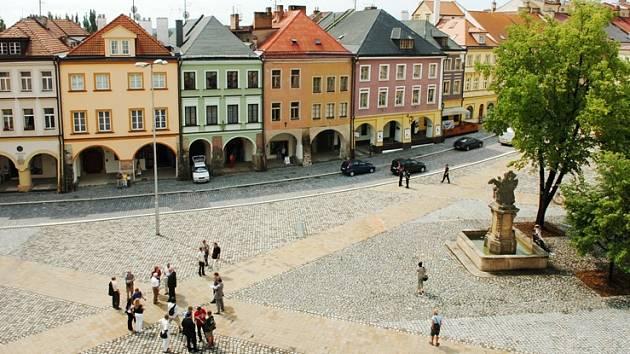 Zrekonstruované Malé náměstí