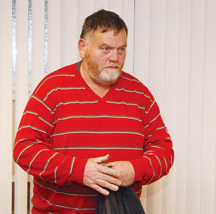 Vladimír Grygar u Krajského soudu v Hradci Králové.