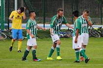 Fotbalisté Kunčic měli po velkém obratu důvod k radosti.