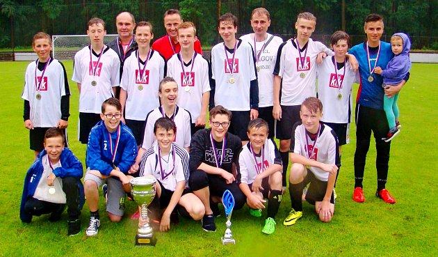 Prvenství ve 44.ročníku Hradeckého poháru Jaroslava Míchala starších žáků vybojoval spojený celek SK Roudnice/SK Bystřian Kunčice.