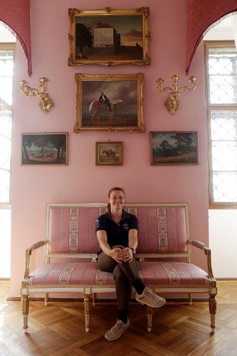 Eleonora Kinský dal Borgo.