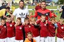 Fotbalisté FC Sparta Brno U8 - vítězové dobřenického turnaje Summer Cup.