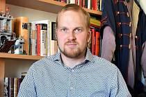 Politolog Jan Květina.