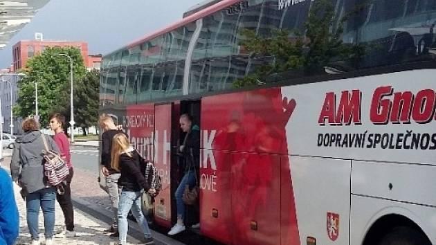 Autobusový zájezd do Terezína.