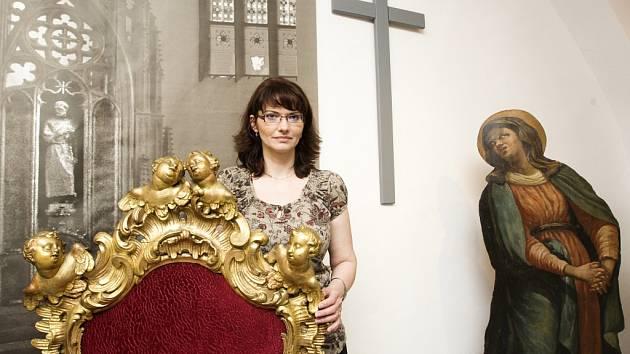 Výstava Zapomenuté poklady z církevních sbírek v prostorách biskupství.