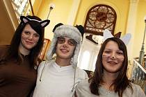 Studentský den na zdravotní škole v Hradci Králové.
