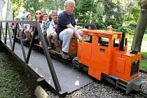 Dětská železnice.