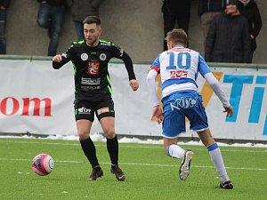 Fotbal FC Hradec - Ústí n. L. (zimní Tipsport liga)
