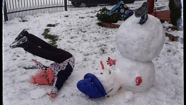 Sněhuláková výzva.