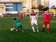 Krajský přebor ve fotbale: TJ Sokol Třebeš - FK Kostelec nad Orlicí.