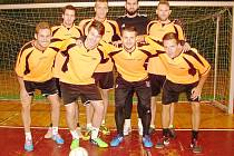 ŠAMPIONI. Vítězem 25. ročníku turnaje fotbalových hvězd se stal Č.S.A.D. team.