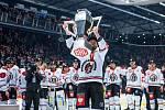 Finále hokejové Ligy mistrů: Mountfield HK - Frölunda Indians.
