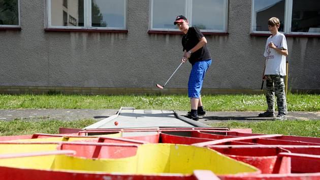 Minigolfový klub MGC Hradečtí Orli v Hradci Králové.