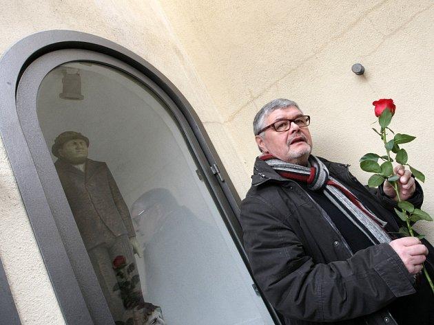 Připomínka Světového dne divadla v Hradci Králové.
