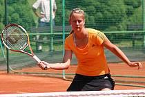 Soňa Nováková v druhém kole tenisového MČR