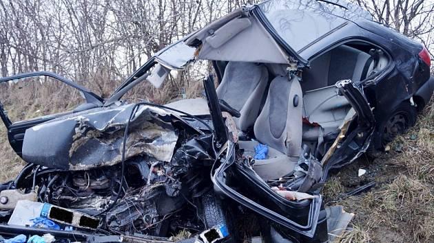 Tragická nehoda u Vysoké nad Labem.