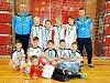 Výběr Okresního fotbalového svazu Hradec Králové kategorie desetiletých skončil první v mezikrajském finále v Pardubicích, o triumfu rozhodl už po čtyřech duelech.