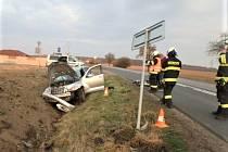Dopravní nehoda u Kobylic