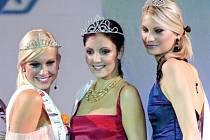 Vítězné krásky v královéhradeckém Aldisu.