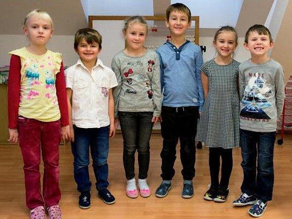 Žáci ze ZŠ Měník.