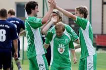 Z fotbalového utkání FC Olympia Hradec Králové versus TJ Dobruška.