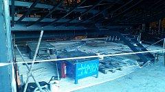 Skyboxy na stadionu v Hradci Králové
