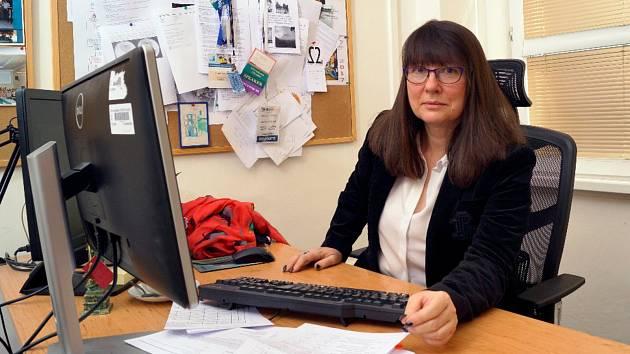 Viroložka Vanda Boštíková. Foto: FVZHK