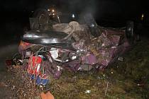 Fotografie z dopravní nehody