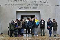 Studenti před Vánoci navštívili Francii