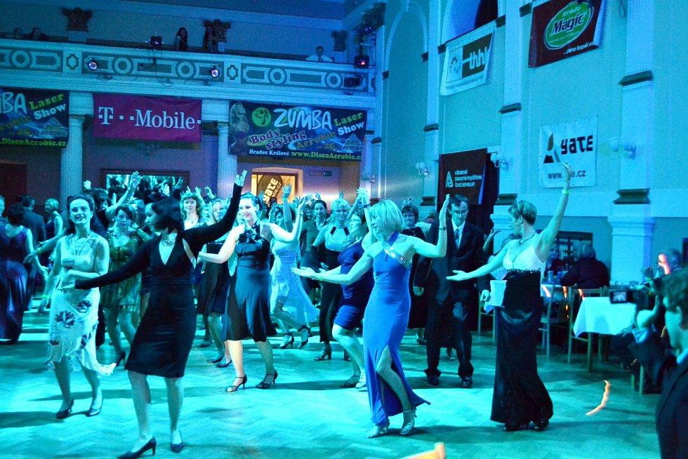 Fitness ples DiscoAerobicu v Adalbertinu v Hradci Králové.