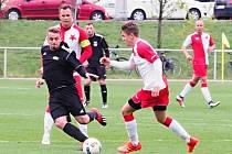 Fotbalový krajský přebor: FC Slavia Hradec Králové - TJ Sokol Třebeš.